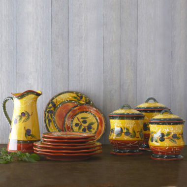 jcpenney.com   Certified International French Olive Dinnerware Collection