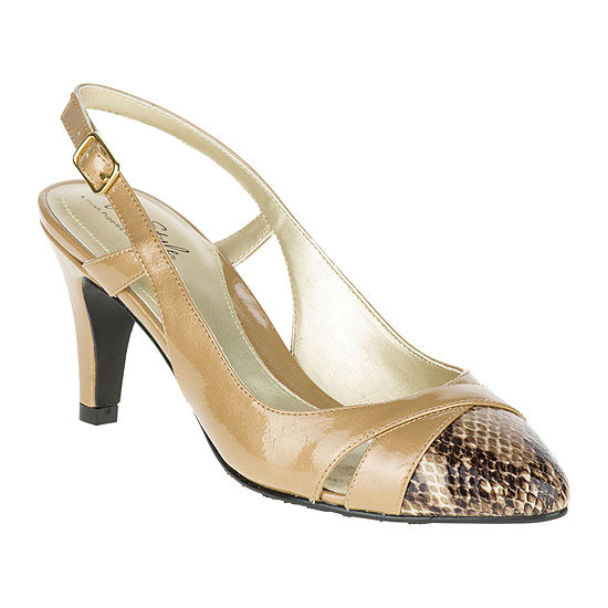 36241a7e161 Soft Style® by Hush Puppies Rielle Leather Slingback Pumps