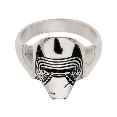 Star Wars® Stainless Steel Episode VII Kylo Ren 3D Ring