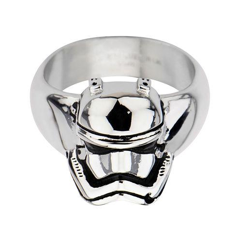 Star Wars® Stainless Steel Episode VII Stormtrooper 3D Ring