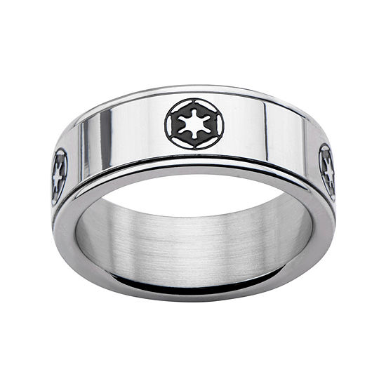 Star Wars Stainless Steel Galactic Empire Symbol Spinner Ring