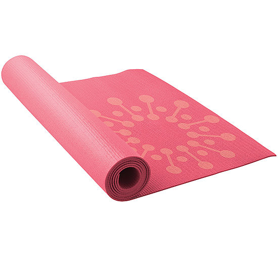 Lotus Yoga Reversible Printed Yoga Mat Pack Color Pink Jcpenney