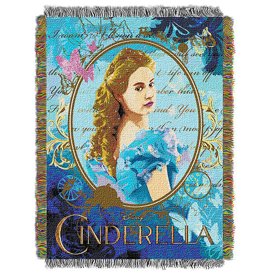 Disney Cinderella Tapestry Throw