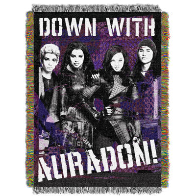 Disney Descendants Tapestry Throw