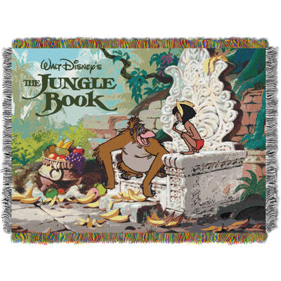 Disney The Jungle Book Tapestry Throw