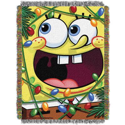 SpongeBob SquarePants Holiday Tapestry Throw