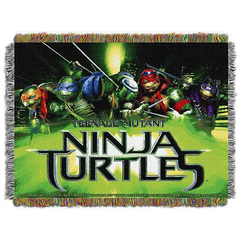 Teenage Mutant Turtles Tapestry Throw