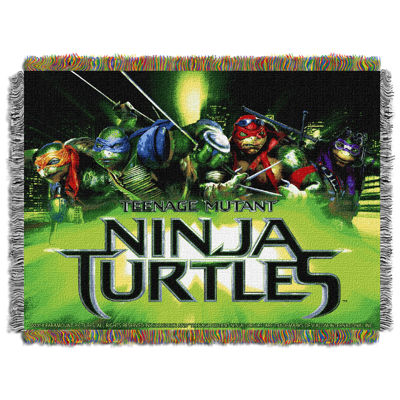 Teenage Mutant Turtles Tapestry Throw