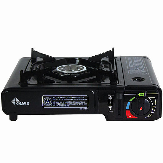 Chard Single-Burner Portable Butane Stove