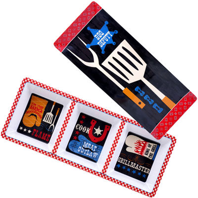 Certified International BBQ Bandit 2-pc. Appetizer Set