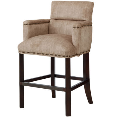 Madison Park Savannah Rolled Arm Counter Stool