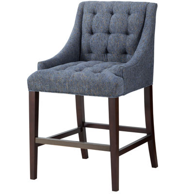 Madison Park Isabella Sloped-Arm Barstool
