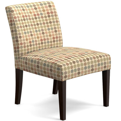 Everett Armless Slipper Accent Chair