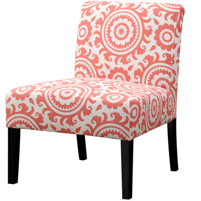 Jackson Medallion Slipper Accent Chair