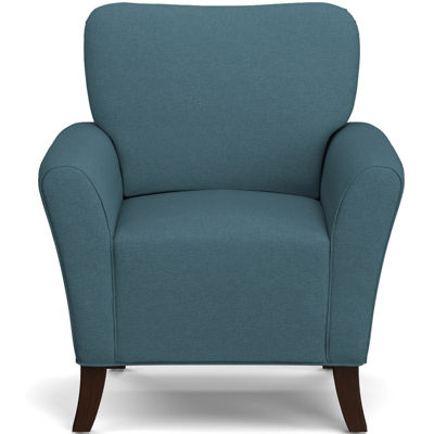 June Caribbean Blue Accent Chair