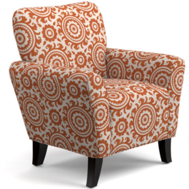 June Medallion Accent Chair