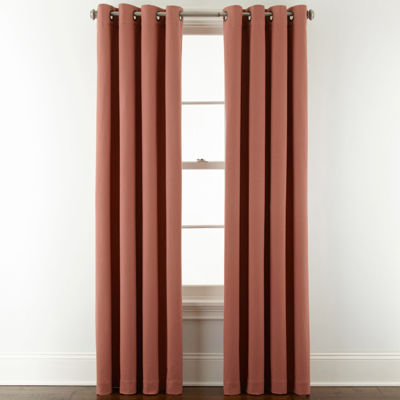 Liz Claiborne® Pembroke Grommet-Top Curtain Panel