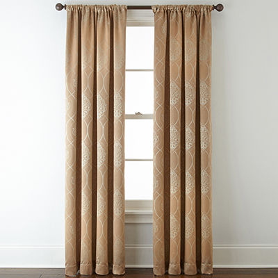 Home Expressions™ Sorrento Blackout Rod-Pocket Curtain Panel