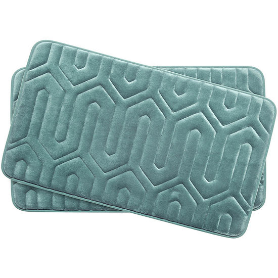Bounce Comfort Thea Memory Foam 2-pc. Bath Mat Set