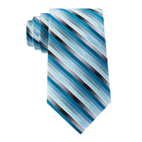 Van Heusen® Pierre Striped Silk Tie