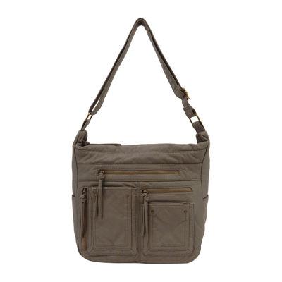 St. John's Bay Washed Convertible Shoulder Bag