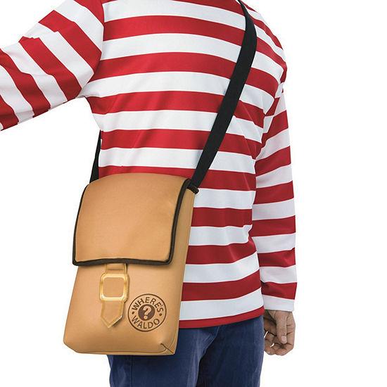 Where'S Waldo Messenger Bag Dress Up Accessory