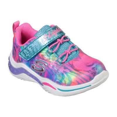 Skechers Power Petals Hook and Loop Sneakers Toddler Girls