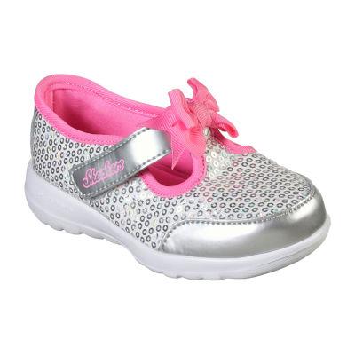 Skechers Go Walk Joy Toddler Girls Slip-on Sneakers