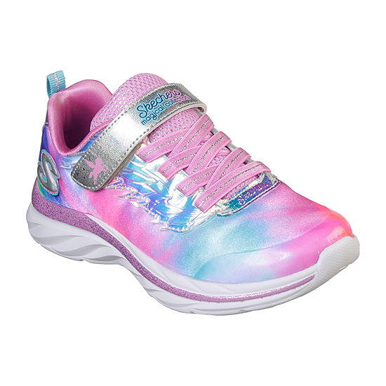Skechers Quick Kicks Little Kids Girls Hook and Loop Sneakers