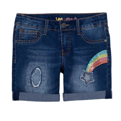 Lee Spring 19 Shorts Girls Mid Rise Midi Short-Preschool