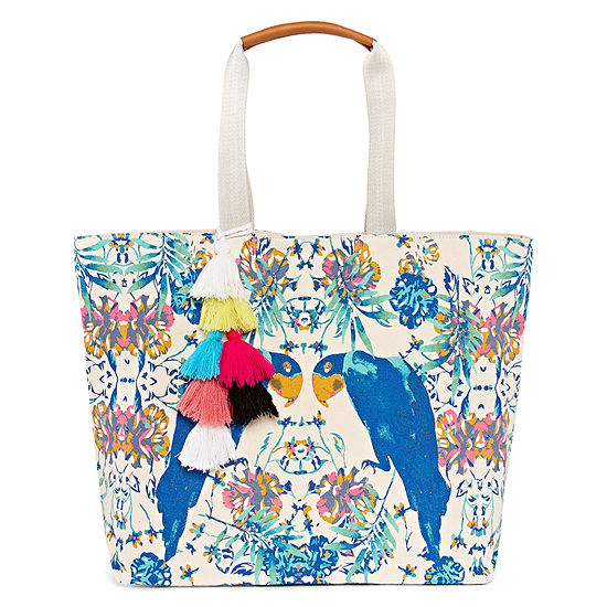 Mixit Printed Canvas Tote