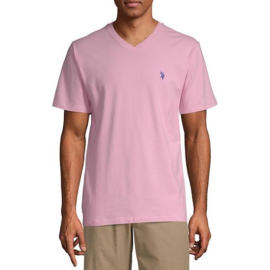 U.S. Polo Assn. Mens V Neck Short Sleeve T-Shirt