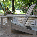 Outdoor Interiors Grey Wash Eucalyptus Adirondack Chair