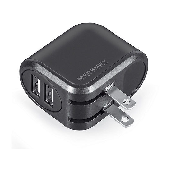 Merkury Innovations 2-Port USB Wall Charger