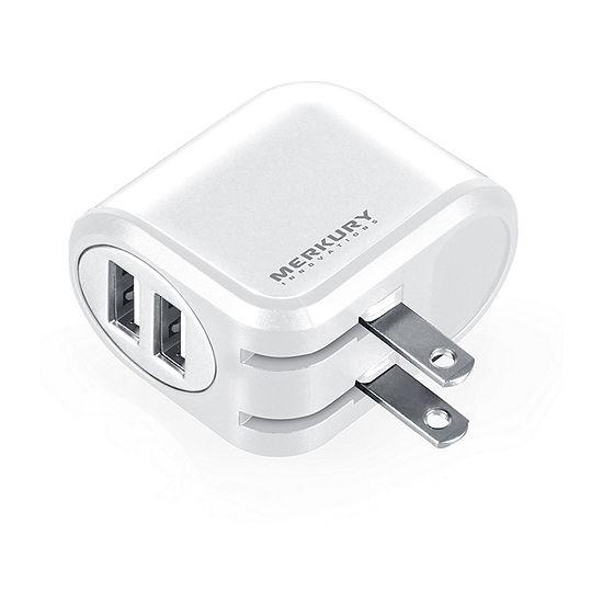 Merkury Innovations 2-Port USB Wall Charger