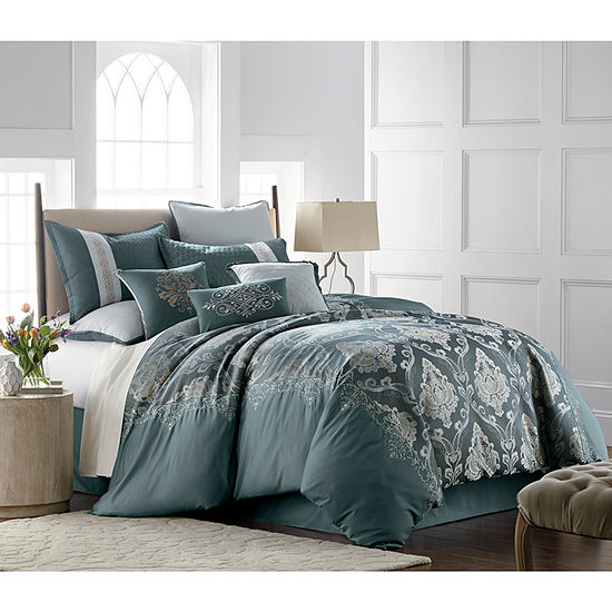 JCPenney Home Kagan 7-pc. Jacquard Comforter Set