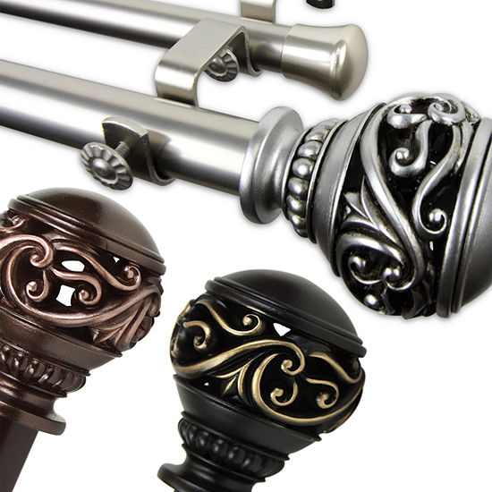 Rod Desyne Isabella Double Curtain Rod