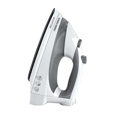 Black+Decker Quickpress Iron with Smart Steam Technology, One Size , White