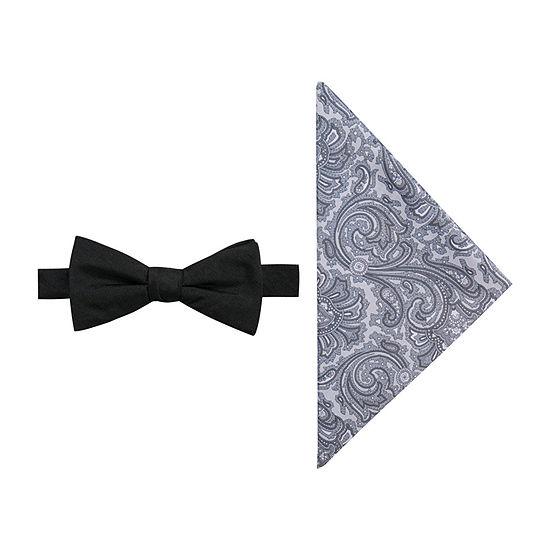 JF J.Ferrar Prom Paisley Bow Tie Set