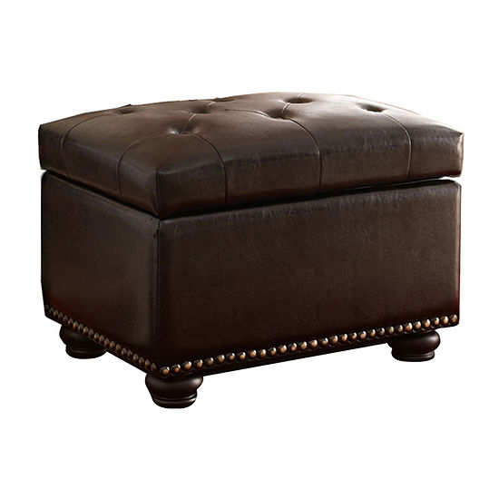 Designs4comfort 5th Avenue Storage Ottoman