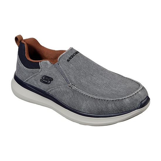 Skechers Mens Delson 2.0-Larwin Slip-On Shoe