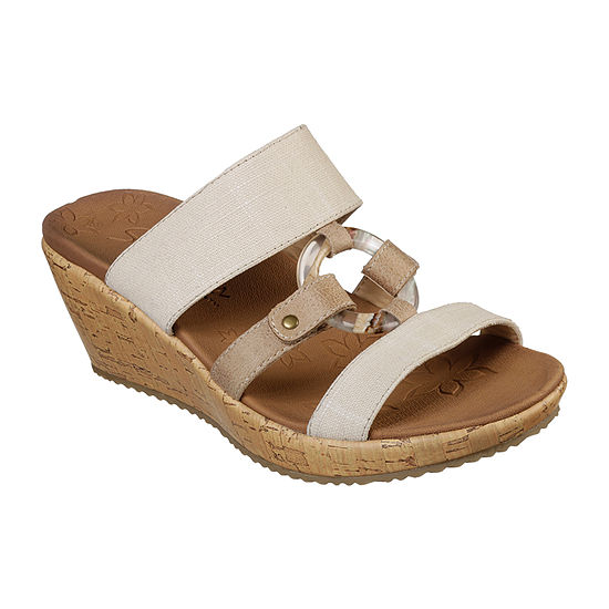 Skechers Womens Beverlee - Sail Away Wedge Sandals