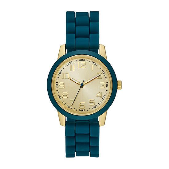 Womens Blue Strap Watch-Fmdjo173