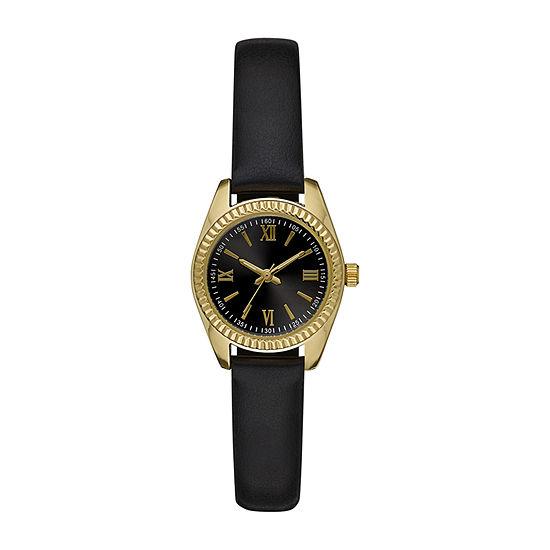 Womens Black Strap Watch-Fmdjo174