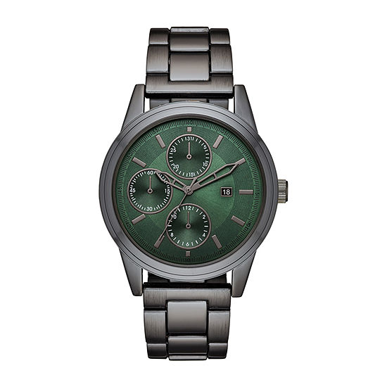 Geneva Mens Gray Bracelet Watch-Fmdjm607