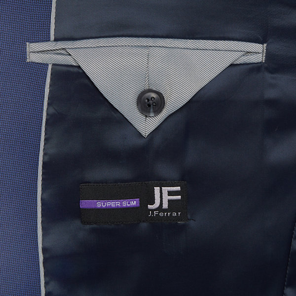 JF J.Ferrar Ultra Comfort Mens Slim Fit Suit Jacket