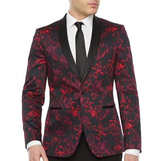 JF J.Ferrar Mens Classic Fit Tuxedo Jacket