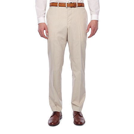 60s – 70s Mens Bell Bottom Jeans, Flares, Disco Pants JF J.Ferrar 360 Stretch Mens Slim Fit Suit Pants 36 30 Beige $49.99 AT vintagedancer.com
