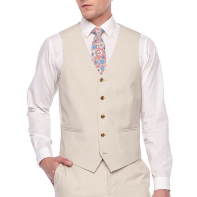 JF J.Ferrar 360 Stretch Mens Stretch Classic Fit Suit Vest - Big and Tall