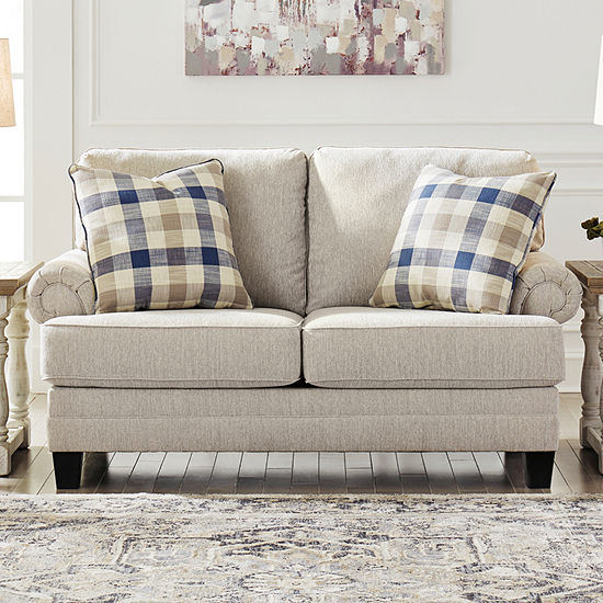 Signature Design by Ashley Meera Collection Roll-Arm Loveseat